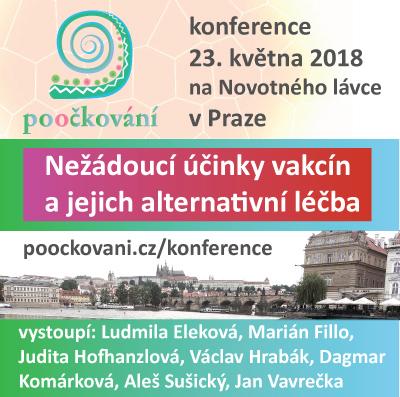 obrazová upoutávka ke konferenci v Praze 23.V.2018